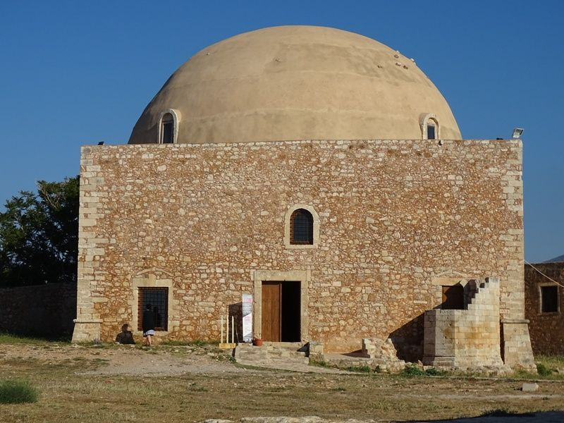 Sultan Ibraim Mosque in Fortezza Rethymnon