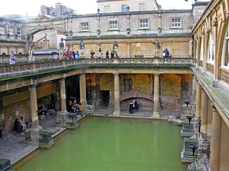 The Great Bath at Roman Baths