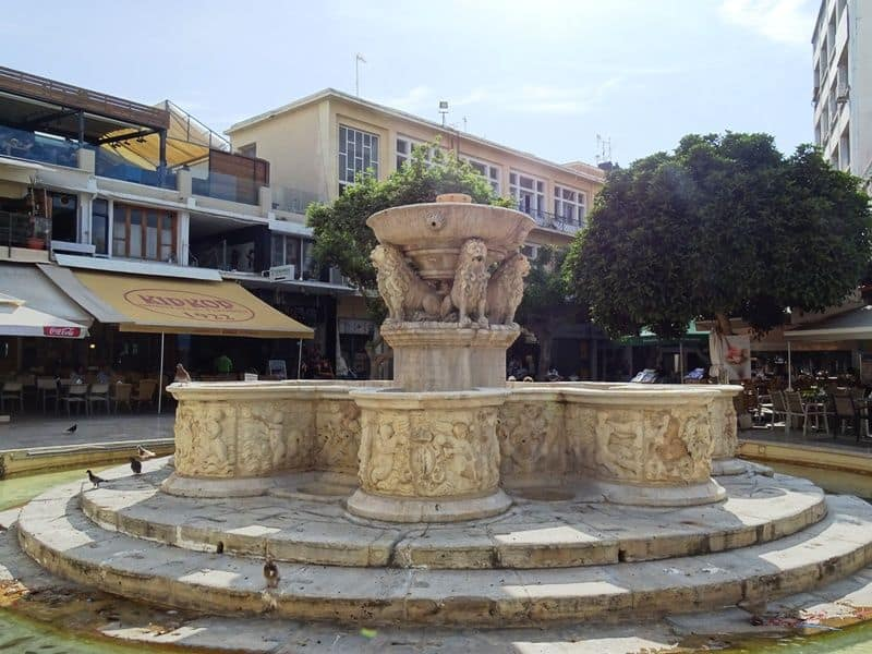 The Lion fountain Heraklion