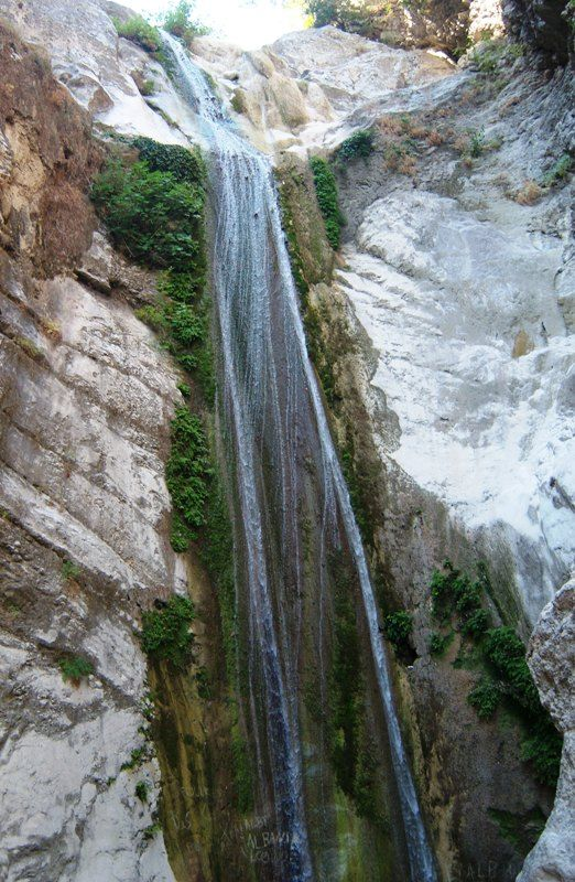 Waterfalls in Nidri, Lefkada