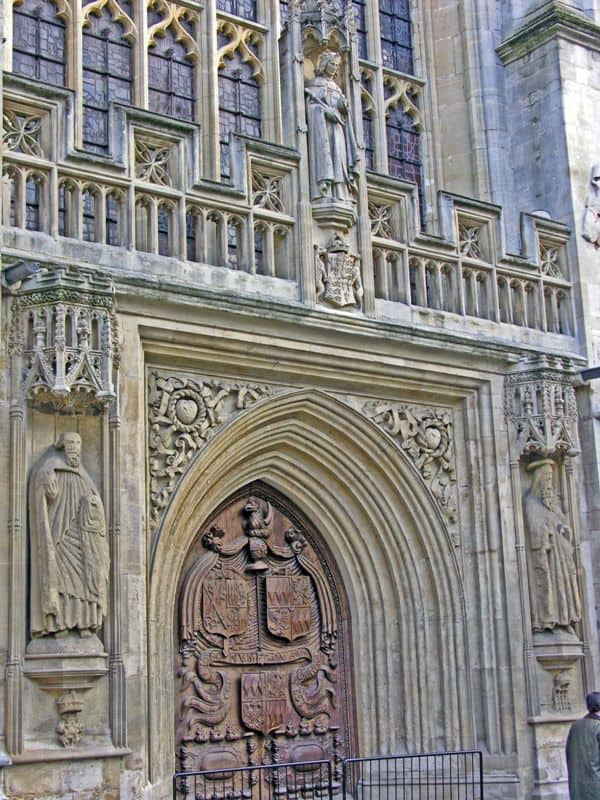 details of Bath Abbey