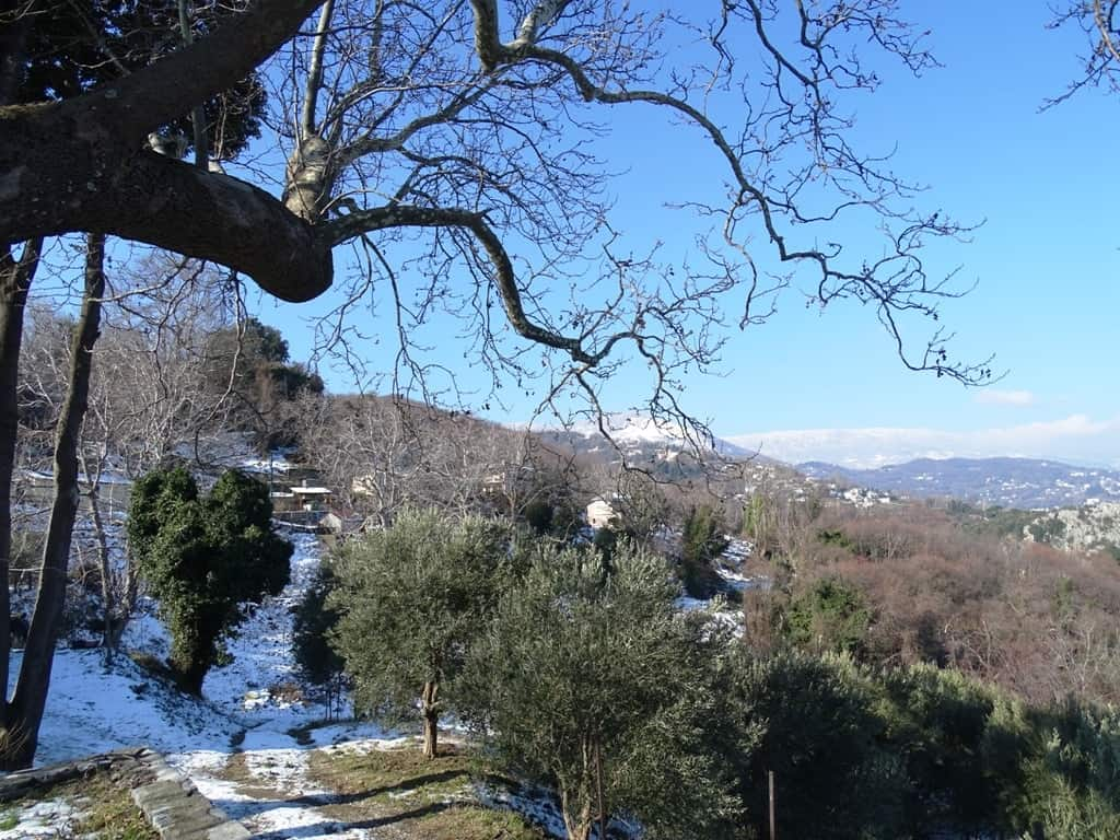 hiking in Pelion 4