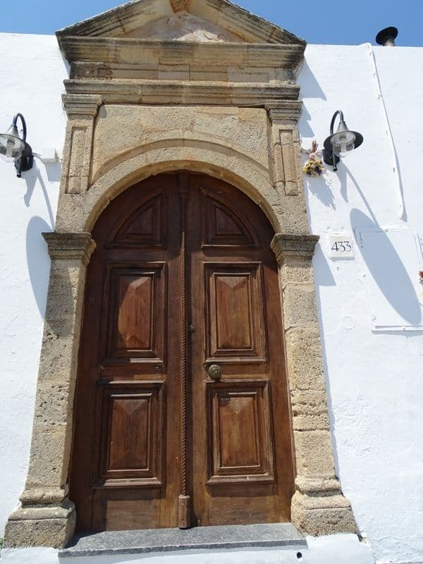 Door-at-Lindos-village
