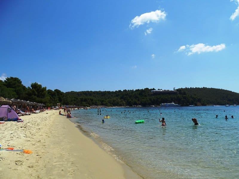 Koukounaries beach Skiathos