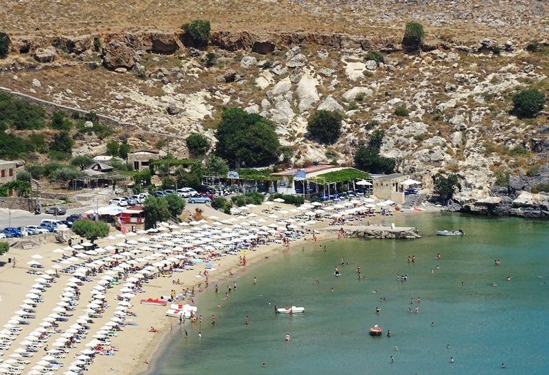 Lindos main beach