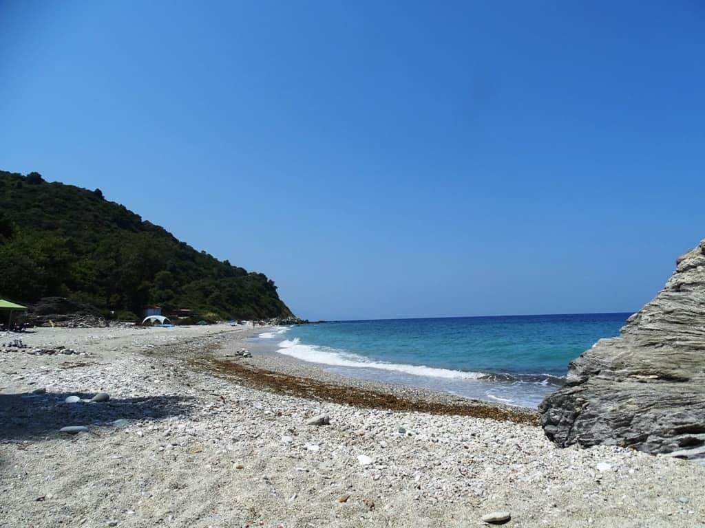 Ombrios beach Pelion