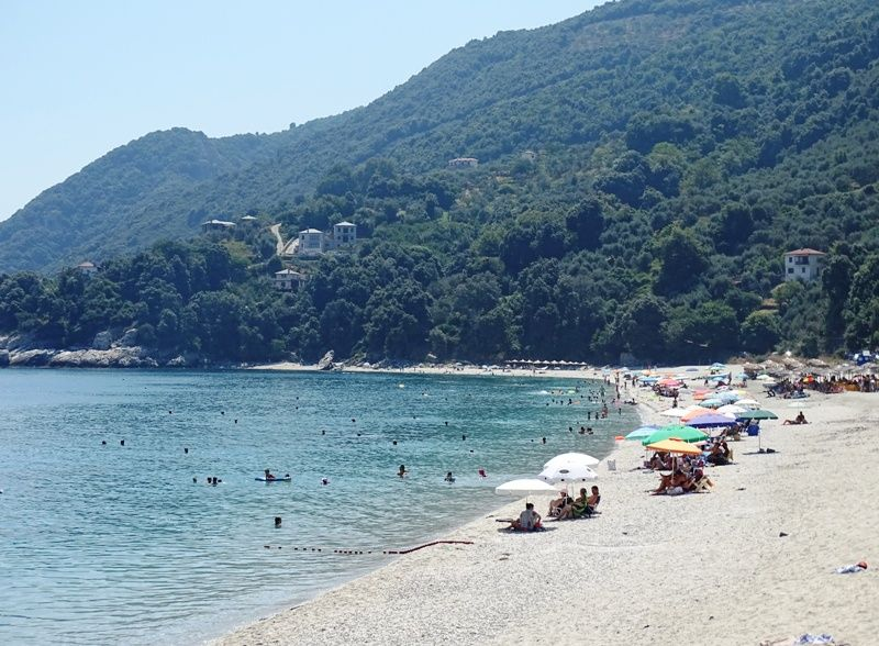 Papa Nero beach Pelion - best time to visit Greece