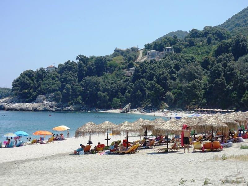 Papa Nero beach Pilion