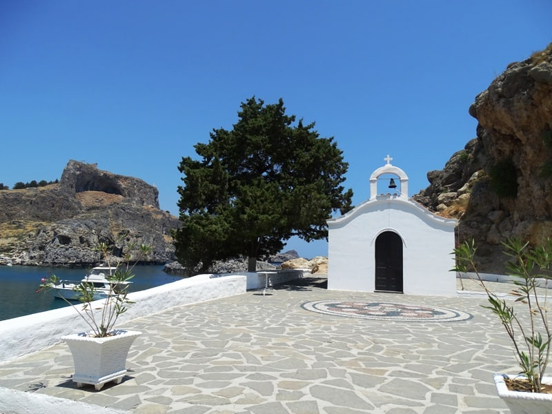 St-Paul's church Lindos