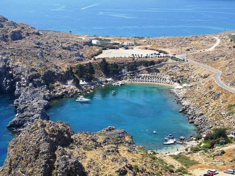 Rhodes Island Greece Beaches