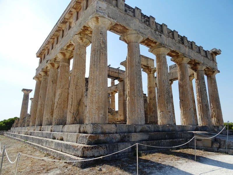 The Temple of Aphaia Aegina island