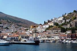 The beautiful island of Hydra