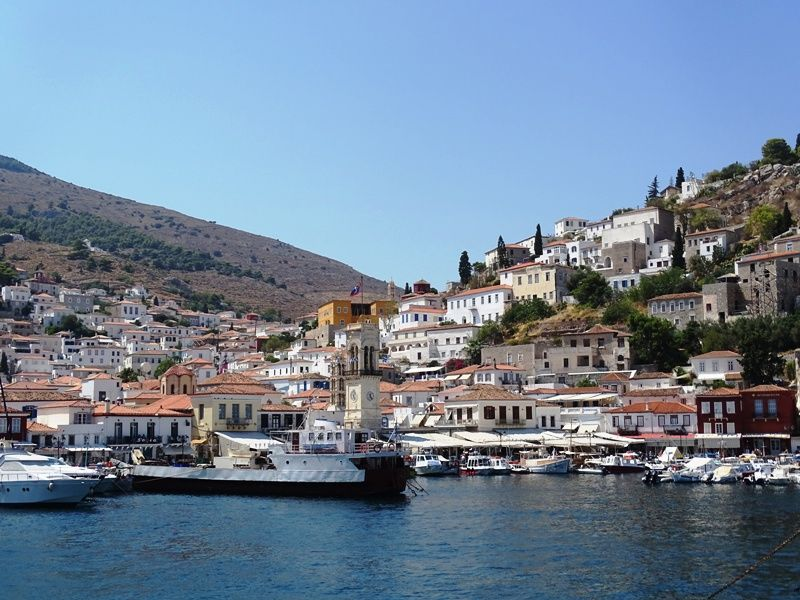 The beautiful island of Hydra