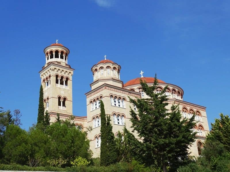 The church of Saint Nectarios Aegina