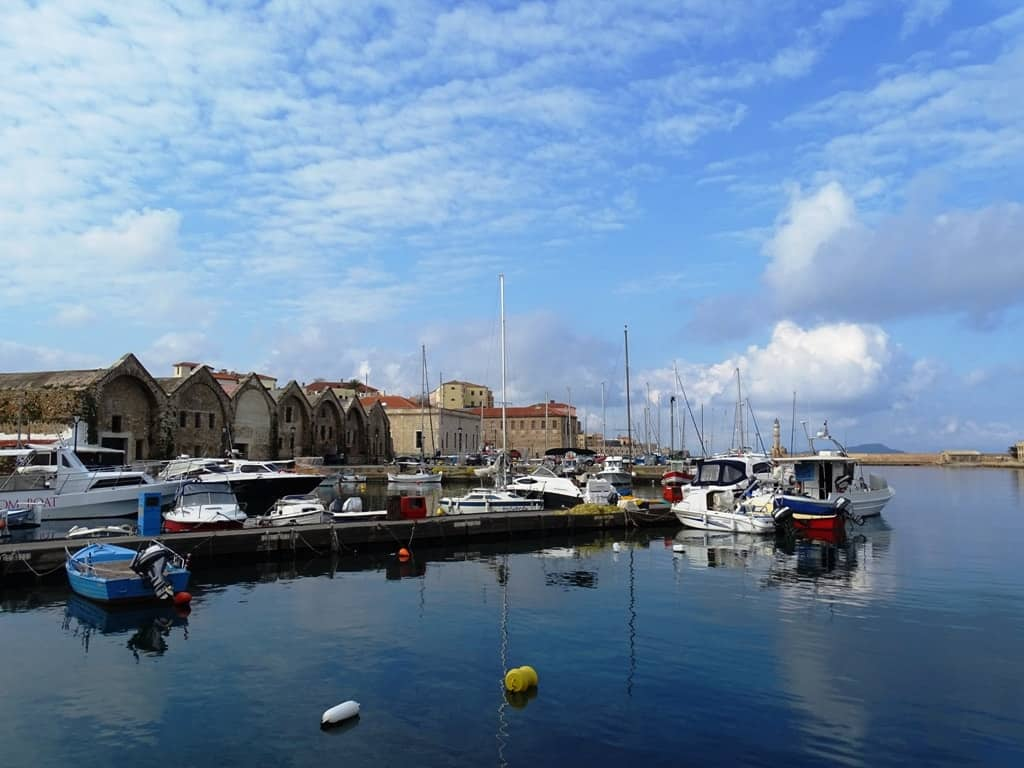 Venetian Dockyards - things to do in Chania Crete