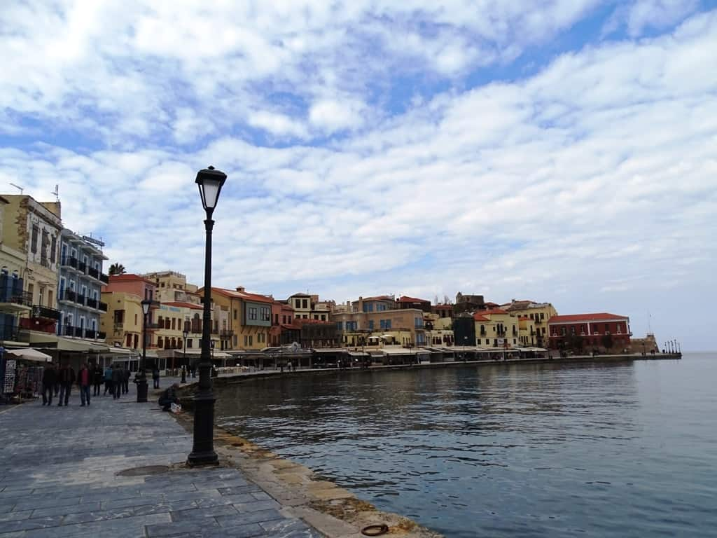 The Venetian port of Chania Crete - things to do in Chania Crete