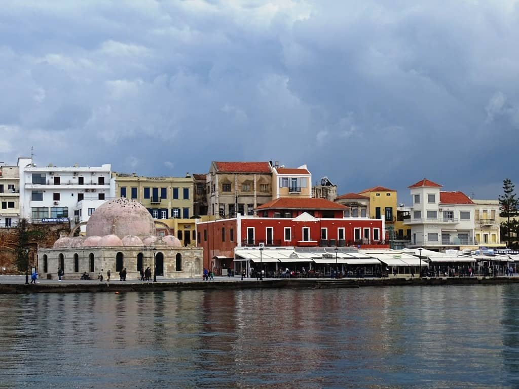 harbour old town Chania