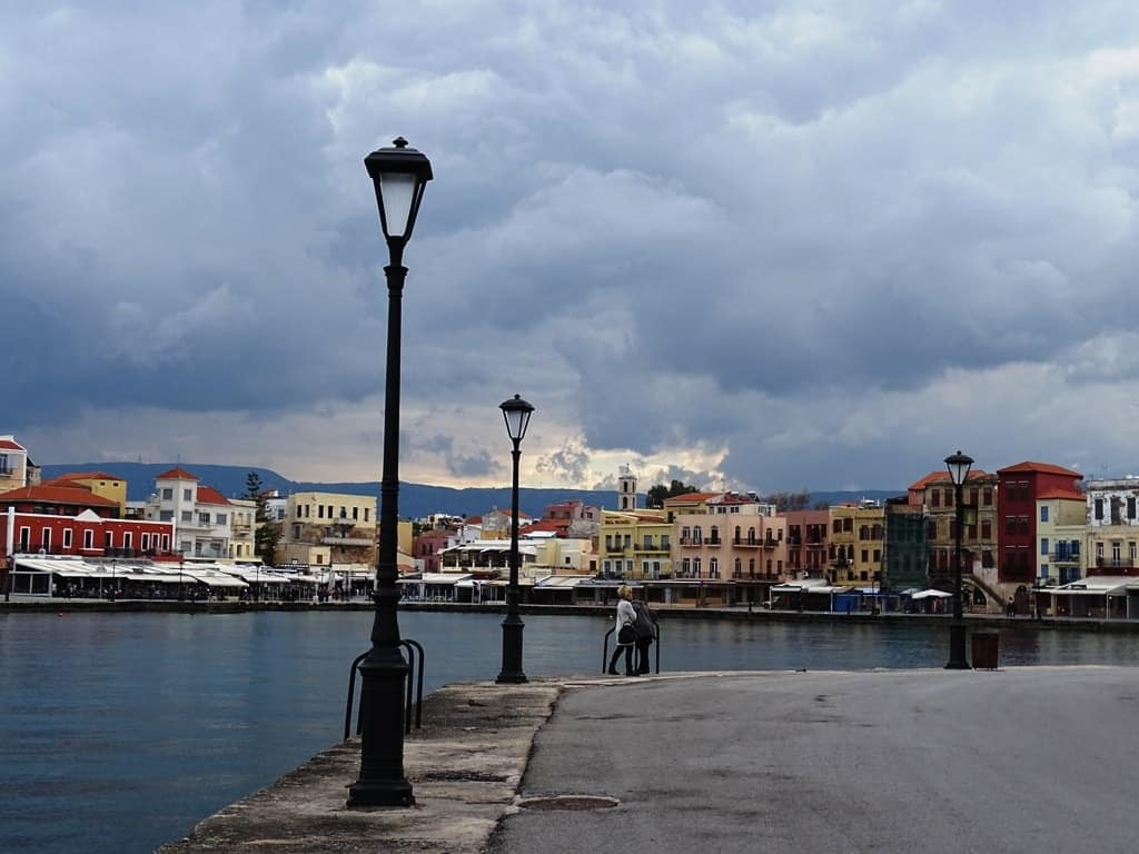 Another view of the Venetian Harbour - things to do in Chania Crete