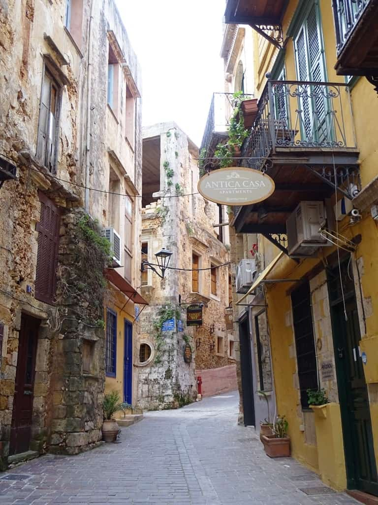 old town Chania Crete 2