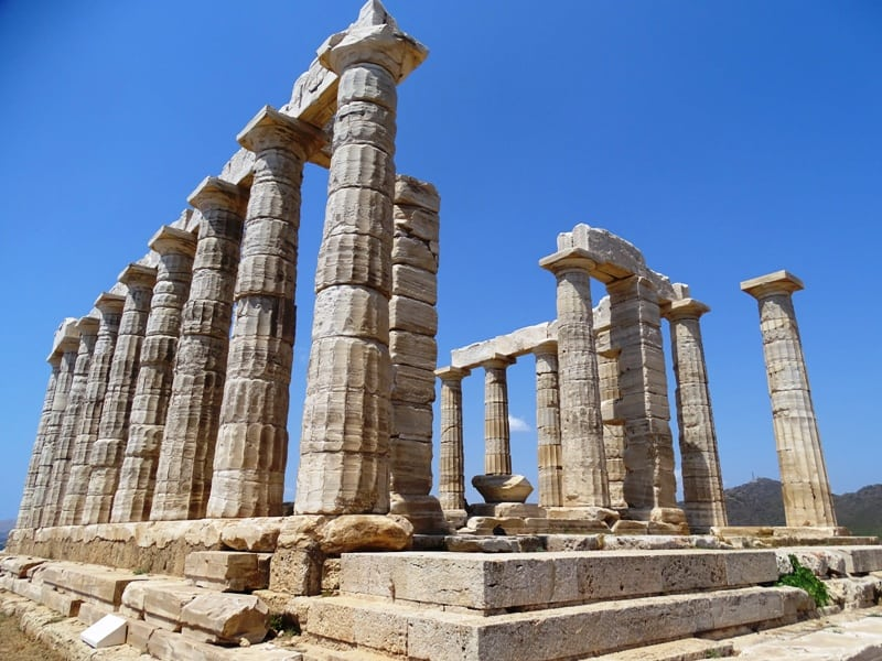 Temple of Poseidon Sounion - Day trip from Athens Greece ...