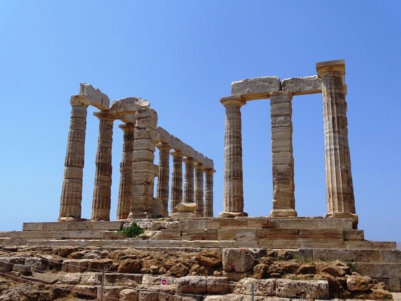 Poseidon's temple Sounio