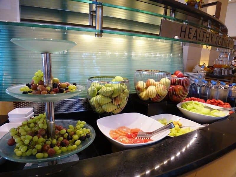breakfast at Hilton