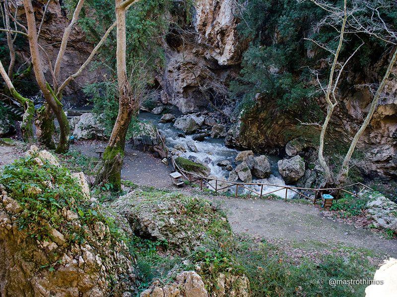 Patsos or Agios Antonios gorge Rethymno Crete