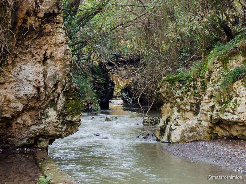 Patsos or Agios Antonios gorge Rethymno Crete 2