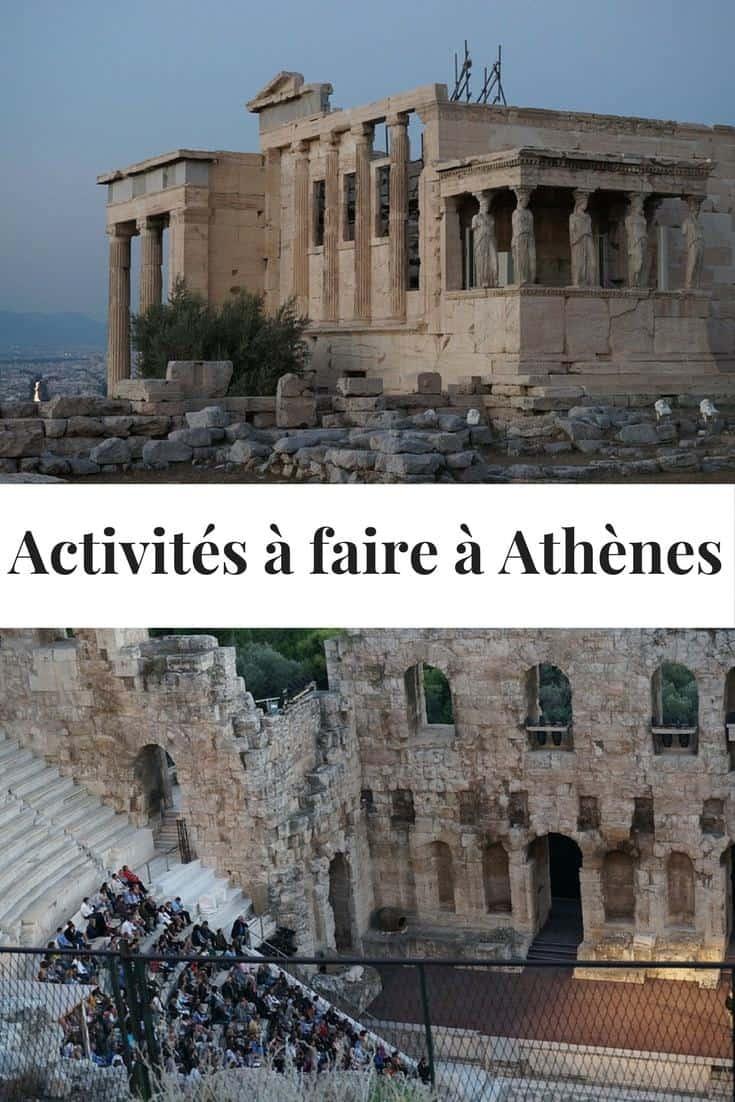 activités à faire à Athènes Grèce - Que voir à Athènes - Grèce: