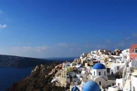 the-village-of-Oia-in-Santorini