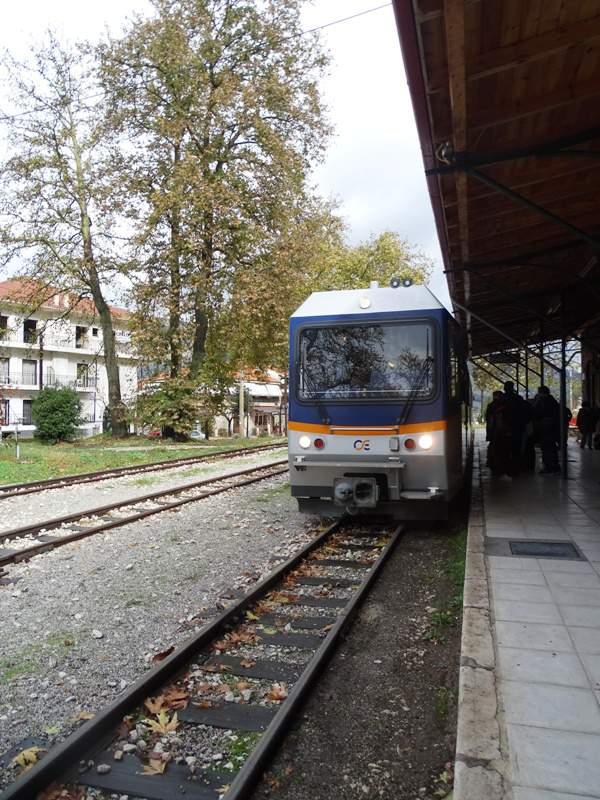 Kalavrita rack railway station