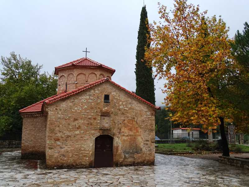 The monastery of Agia Lavra