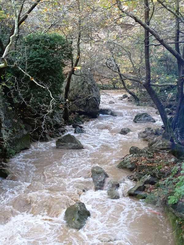 Vouraikos river