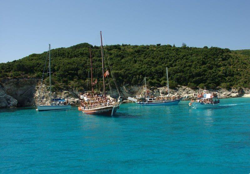 Antipaxos-island