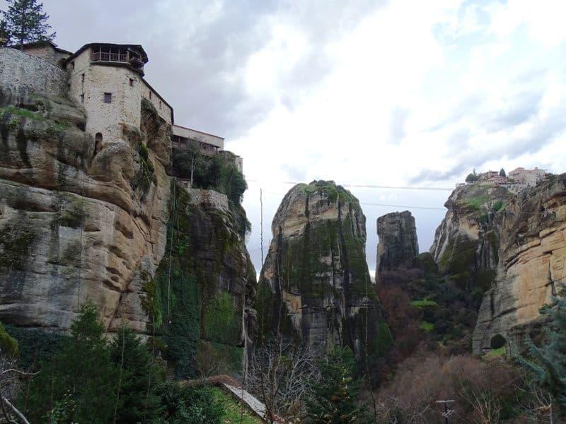 Roussanou-Monastery