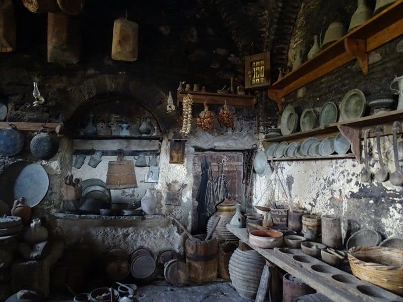 the-kitchen-at-Great-Meteoron-Monastery