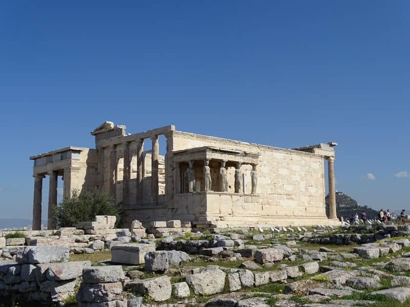 The Erechthion at the Acropolis
