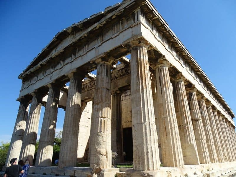 Temple of Hephestus, one of the best preserved temples
