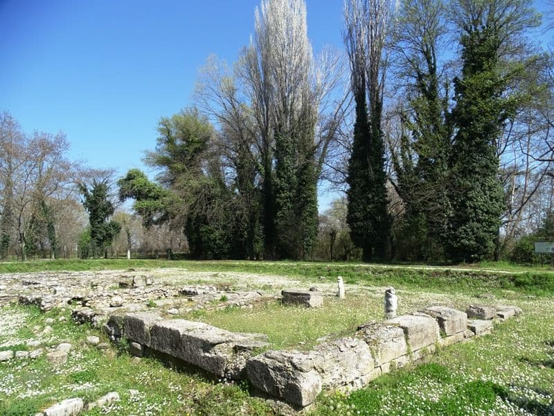 The archaeological site of Dion