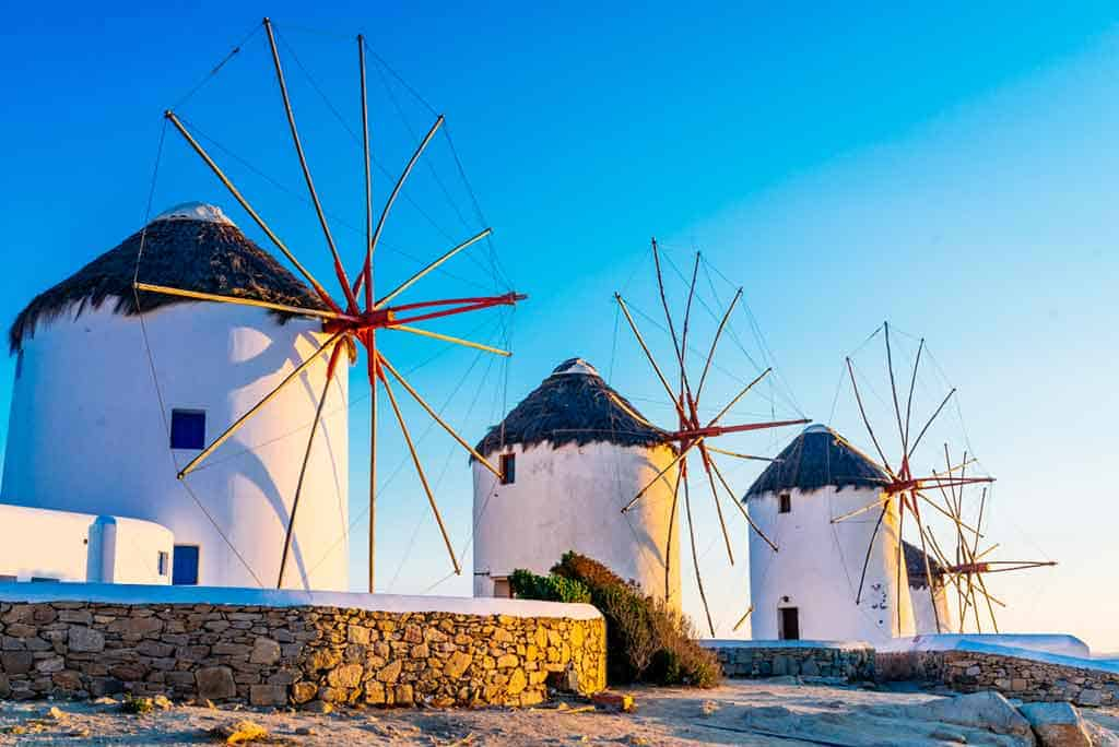 Mykonos - best Greek islands to visit in September