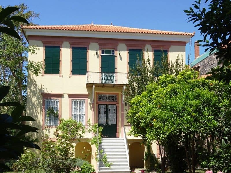 one of the mansions of Molyvos
