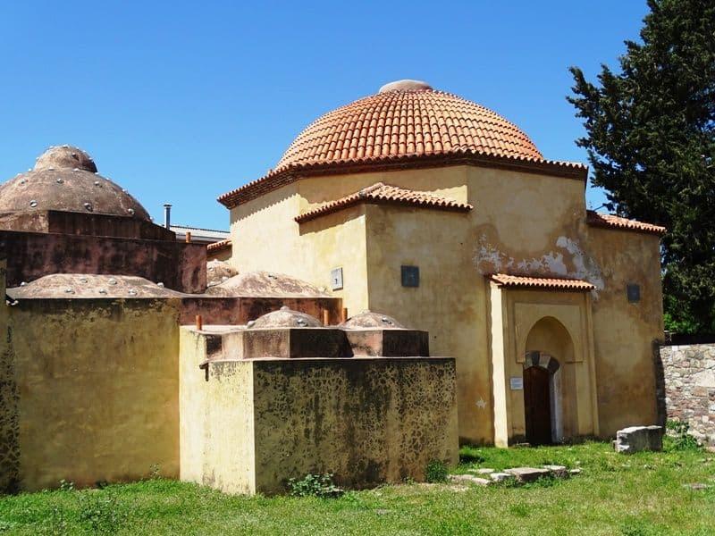 The-Hamam at Mytilene town