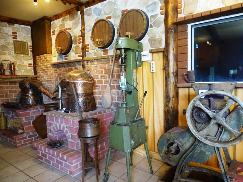 The museum of ouzo at EVA distillery