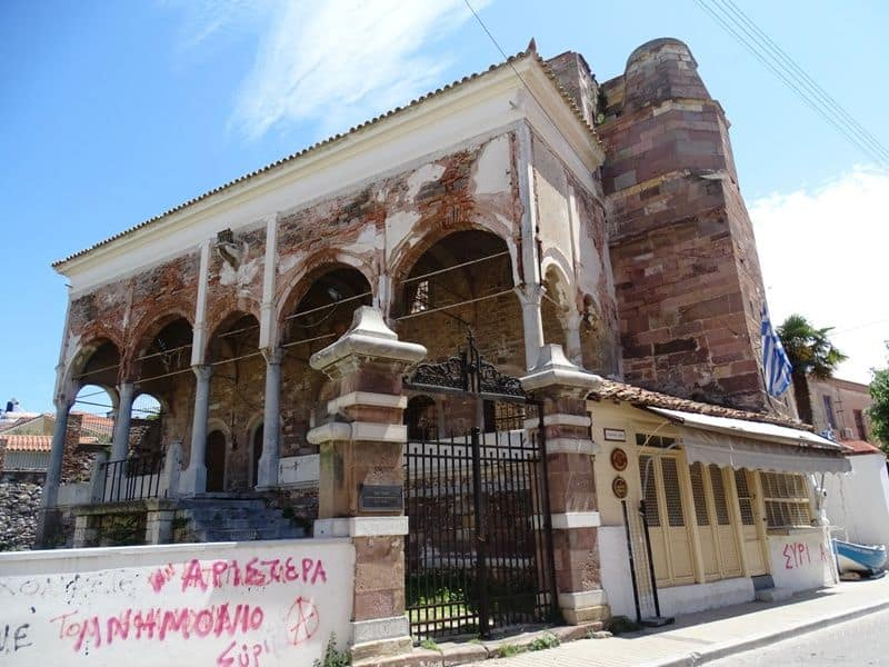 Top things to do in Mytilene town in Lesvos island Greece