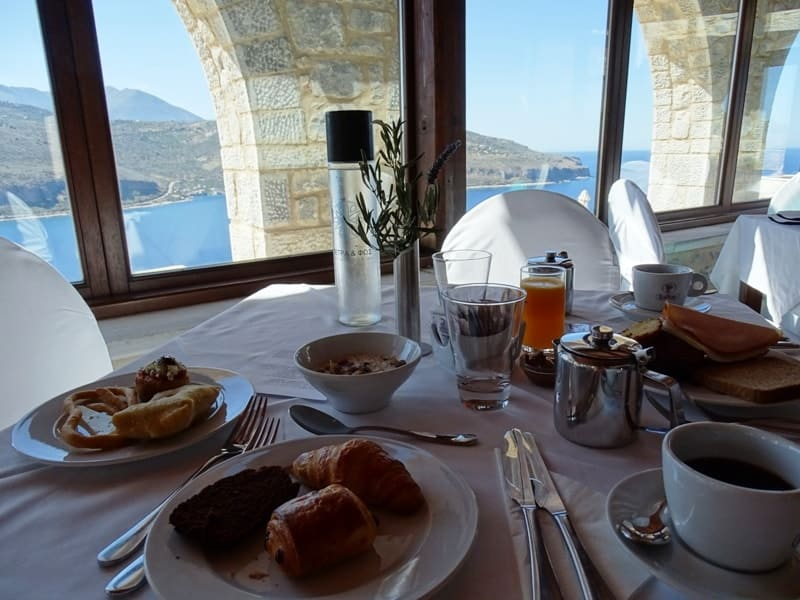 Petra & Fos Boutique Hotel breakfast