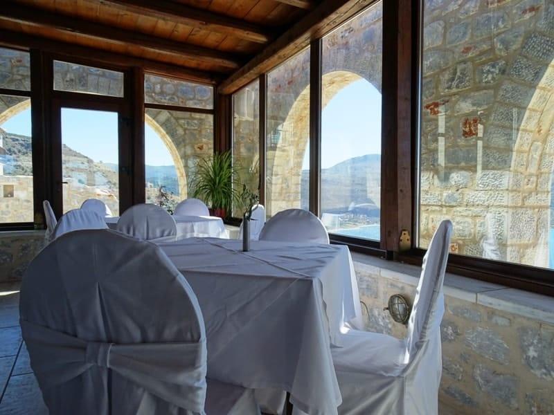 Petra & Fos Boutique Hotel restaurant