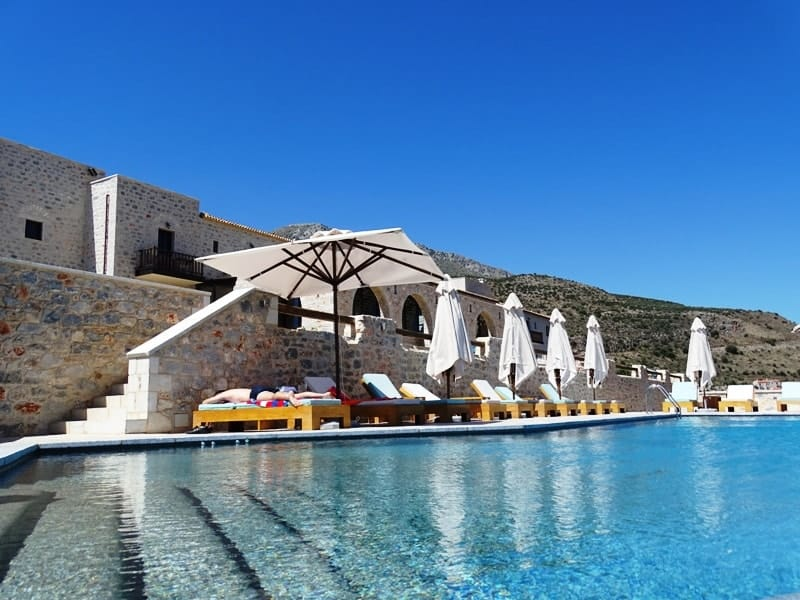 Petra & Fos Boutique Hotel swimming pool 5