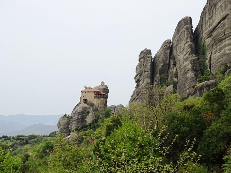 St Nikolaos Anapafsas Monastery Meteora