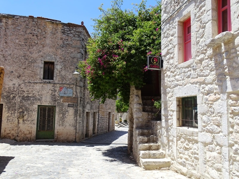 Stone Alleys in Areopoli
