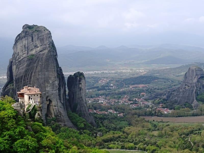 The monastery of Roussanou